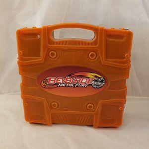 Beyblade Beylocker Carrying Case Metal Fury Orange